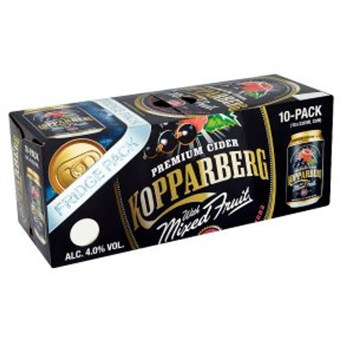 Kopparberg Mixed Fruits Sparkling Fruit Cider Sweden10x330ml