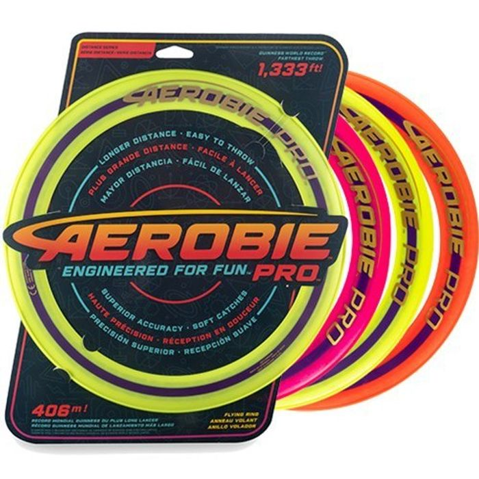 """Aerobie Pro Flying Ring 13"""" Toy for £3.99"""