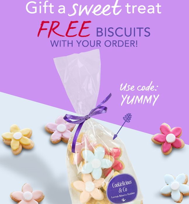 FREE Blooming Biscuit Bunch with Your Order