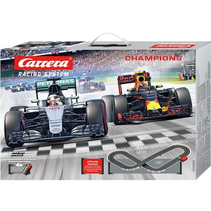 1/2 Price - Carrera Mercedes F1 Car Track Racing Set