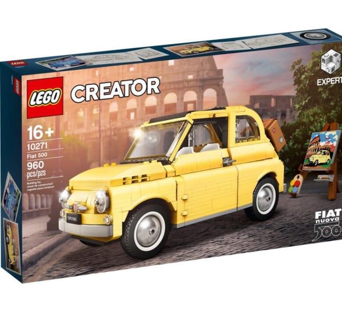 LEGO Creator Expert 10271 Fiat 500 £67.50 with Code at Hamleys