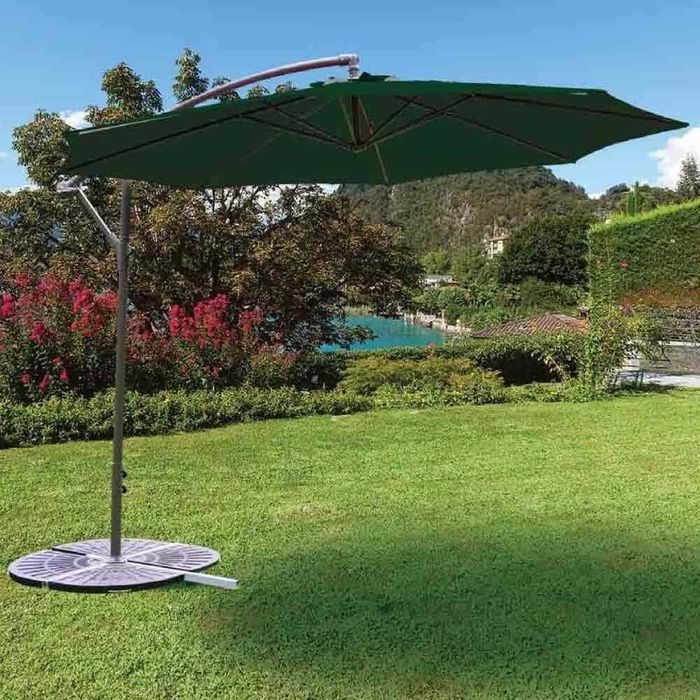 Cheap 3M Steel Side Green Hanging Parasol Only £59.99