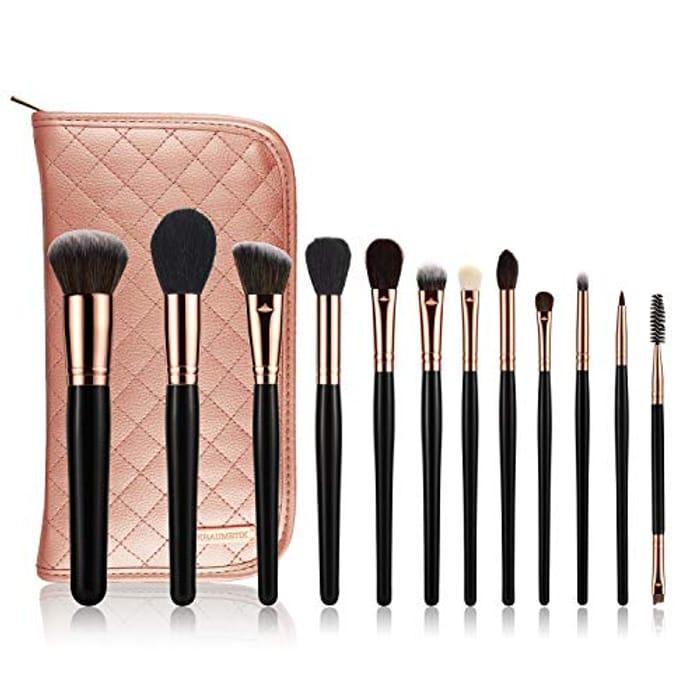 Save 60% - 12-Piece Makeup Brushes Set