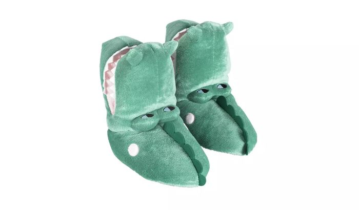Adventure is out Here Crocodile Slippers HALF PRICE