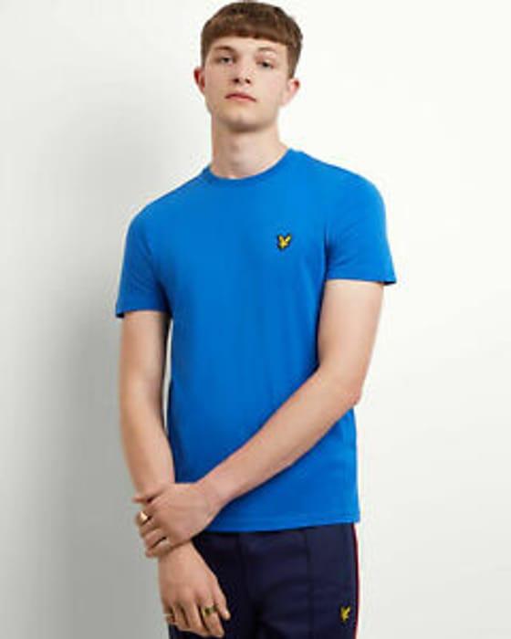 Lyle and Scott Men Plain T-Shirt - Cotton - Save £11