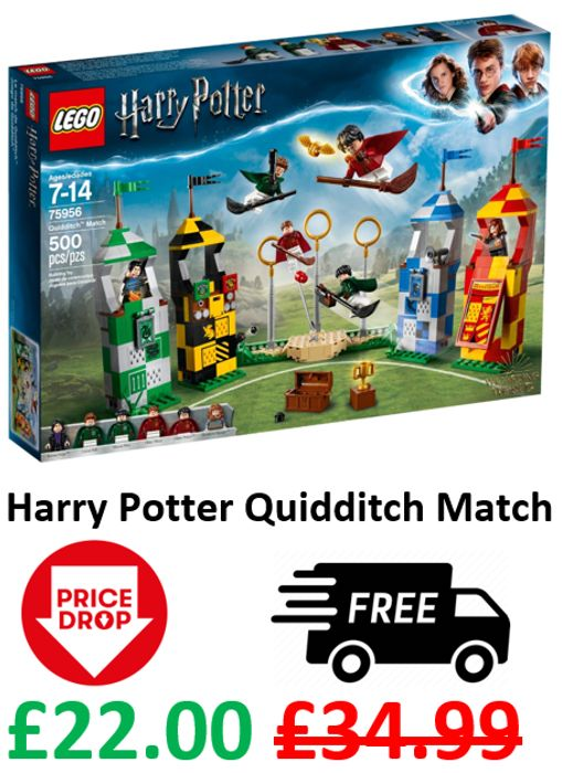 CHEAP PRICE! LEGO HARRY POTTER - Quidditch Match (75956)