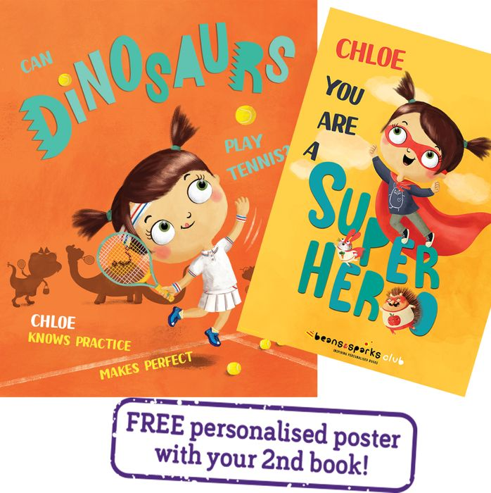 FREE Personalised Kids Book Worth £12.99 For £1.99 P&P