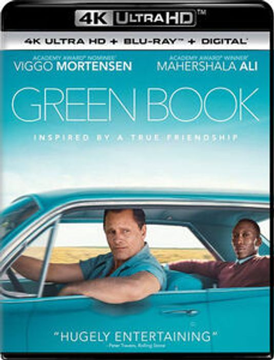 Green Book (4K Mastering, with Blu-Ray, Digital Copy, 2 Pack)