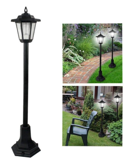 2 x Garden Solar Light Posts - £12 Delivered