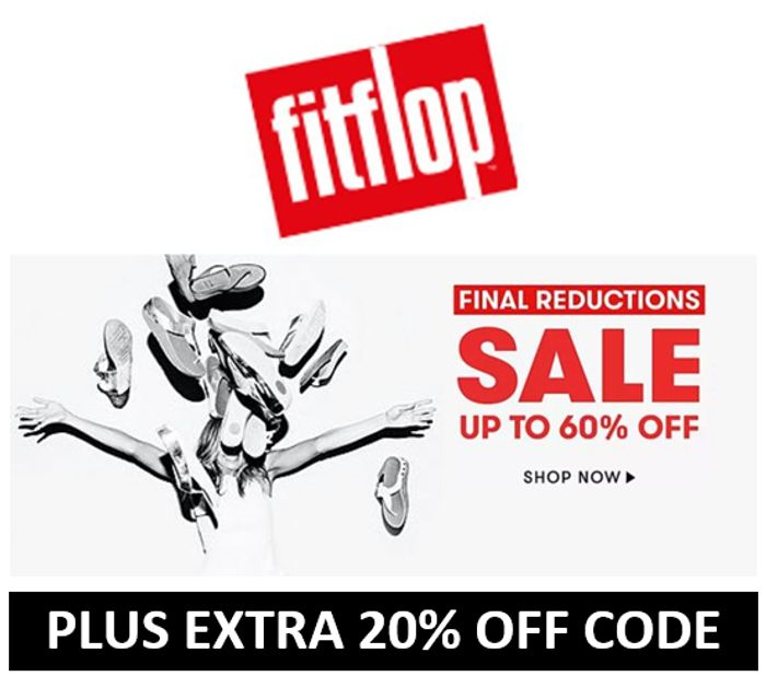Fitflop SALE - FINAL REDUCTIONS + EXTRA 20% OFF CODE