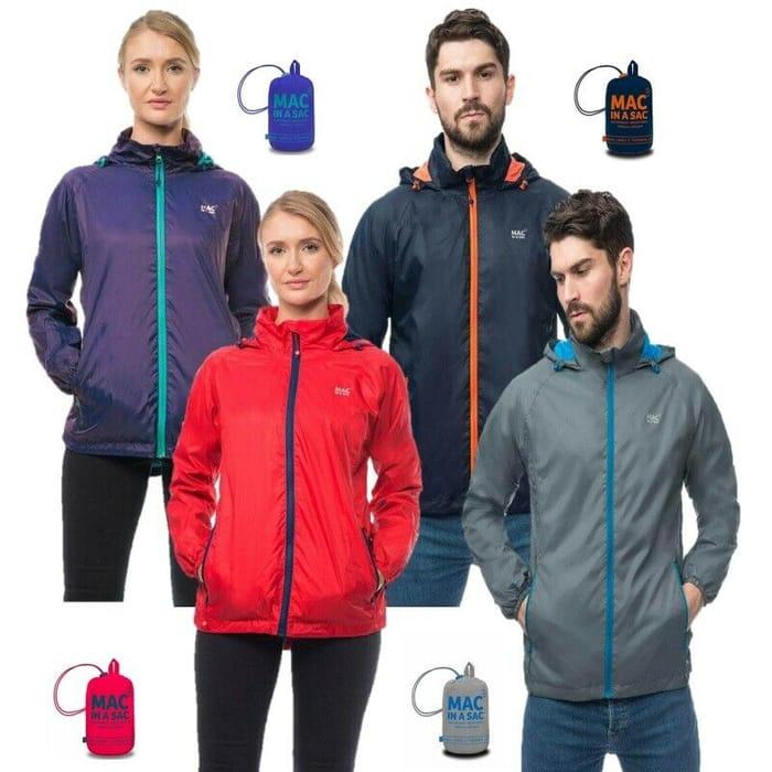 Mac in a Sac Men Women Unisex Synergy Thermal Waterproof Packable Jacket