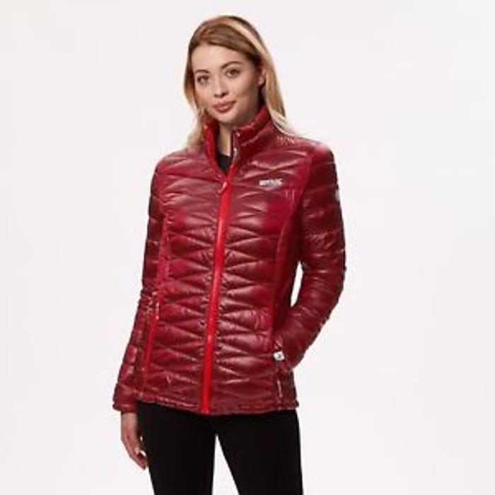 Regatta Ladies Metallia Lightweight Insulated Jacket Red