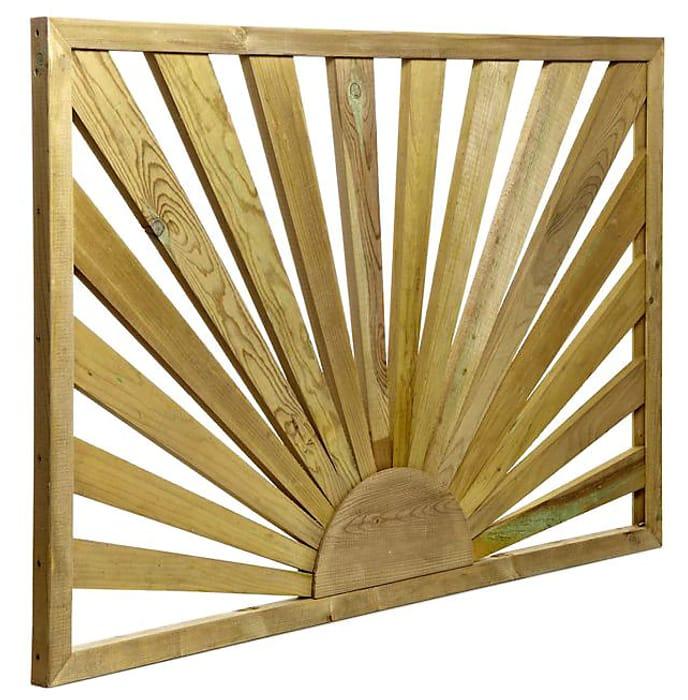 Sunburst Trellis Panel