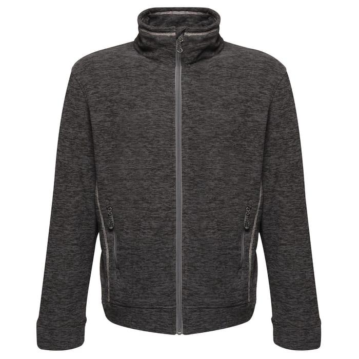 Regatta - Grey 'Thornly' Full Zip Marl Fleece