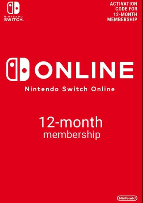 Cheap Nintendo Switch Online 12 Month Membership Only £14.99 at CDKeys