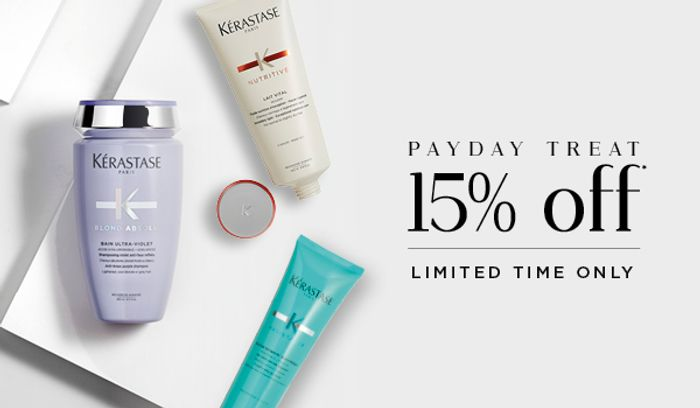 Treat Yourself with 15% Off*