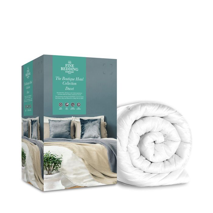 Fine Bedding Company - 13.5 Tog White 'The Boutique Hotel Collection' Double
