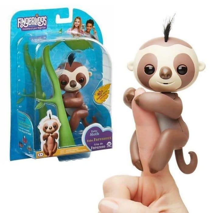 Fingerlings Baby Sloth Interactive Pet