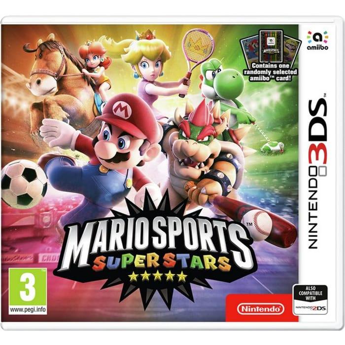 Mario Sports Superstars Nintendo 3DS Game & Amiibo Card