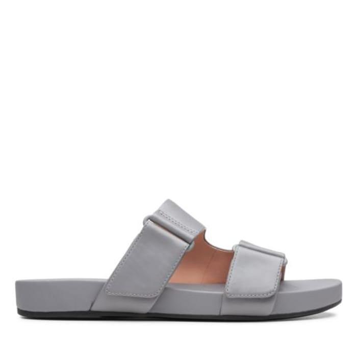 Bright Deja Grey Leather