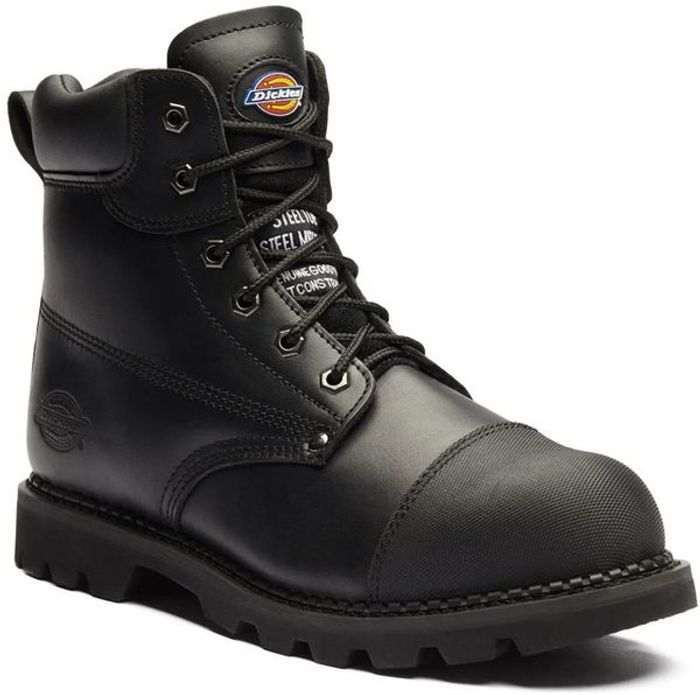 Dickies Black Crawford Safety Boot (Sizes 7-11)