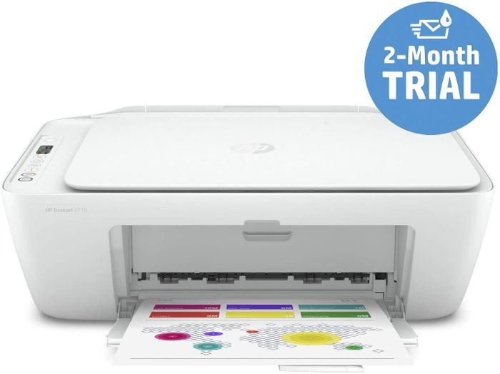 HP DeskJet 2710 All-in-One Printer with Wireless Printing (FEW LEFT)