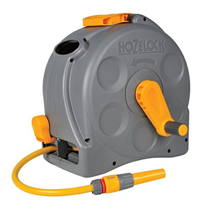 Hozelock Compact 2-in-1 Reel with 25m Hose (+ FREE DELIVERY)