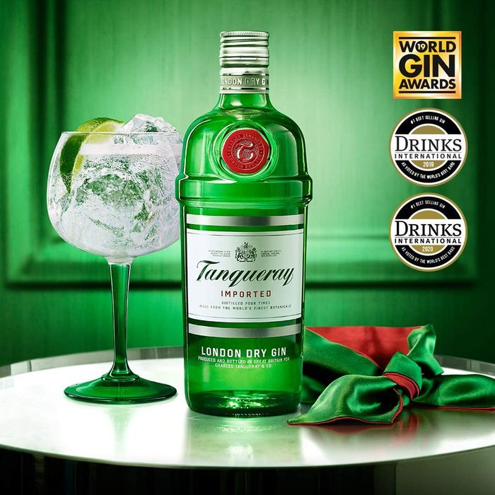 Tanqueray London Dry Gin 1 Litre - SAVE £6 + FREE DELIVERY