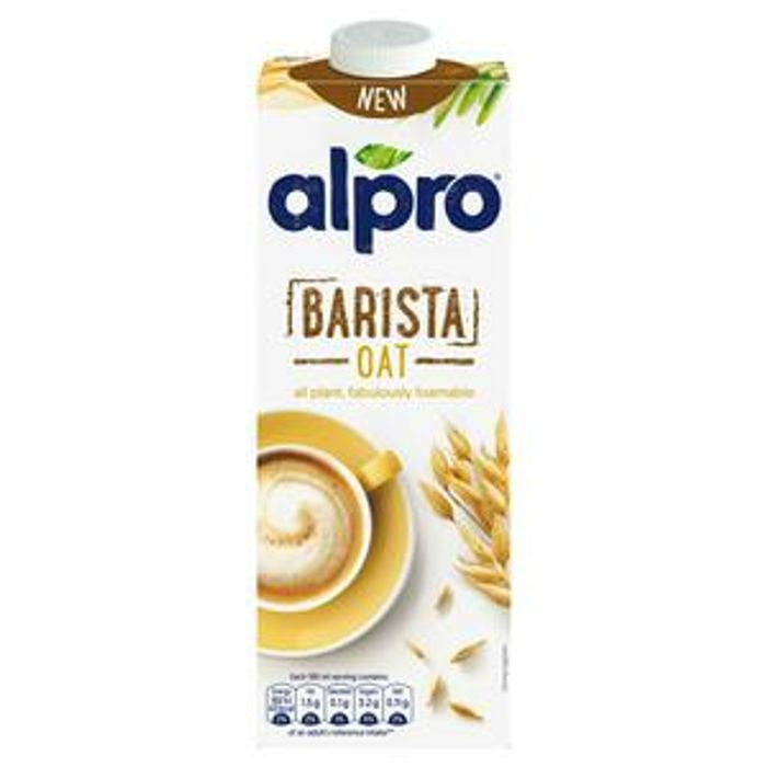 Free Alpro Barista Oat U.H.T. 1L