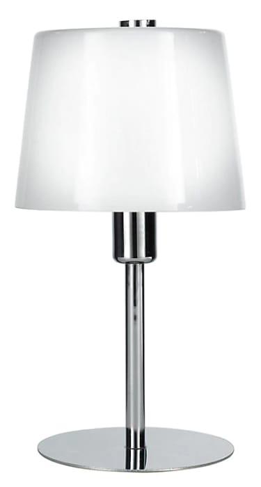 Daria Chrome Effect Incandescent Table Lamp - HALF PRICE!