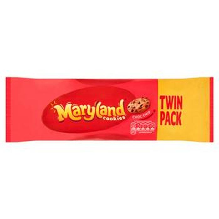Maryland Chocolate Chip Cookies 2x230g Pack