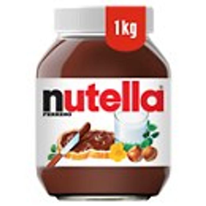 Cheap Nutella Hazelnut Chocolate Spread 1KG Only £4