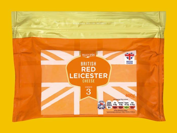Valley Spire British Red Leicester 400g