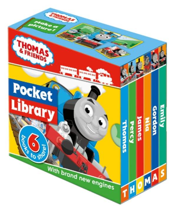 Thomas & Friends: Pocket Library - 6 Board Books