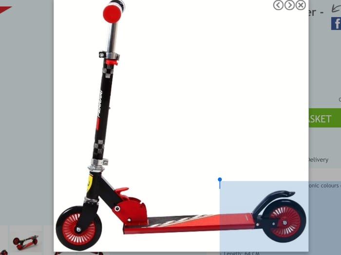 Ferrari Twist Scooter,