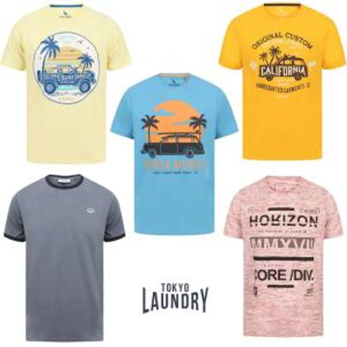 5 for £25 T-Shirts at Tokyo Laundry