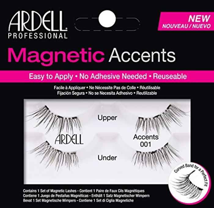 Best Ever Price! Ardell Magnetic Lashes Natural Accents 001