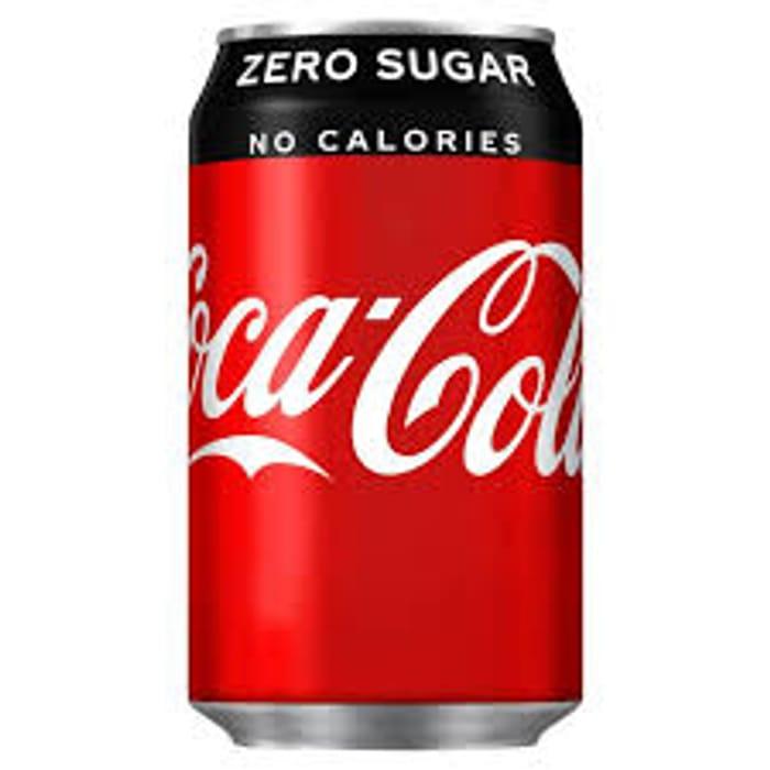 6 X 330ml Cans of Coke Coke Zero or Diet Coke