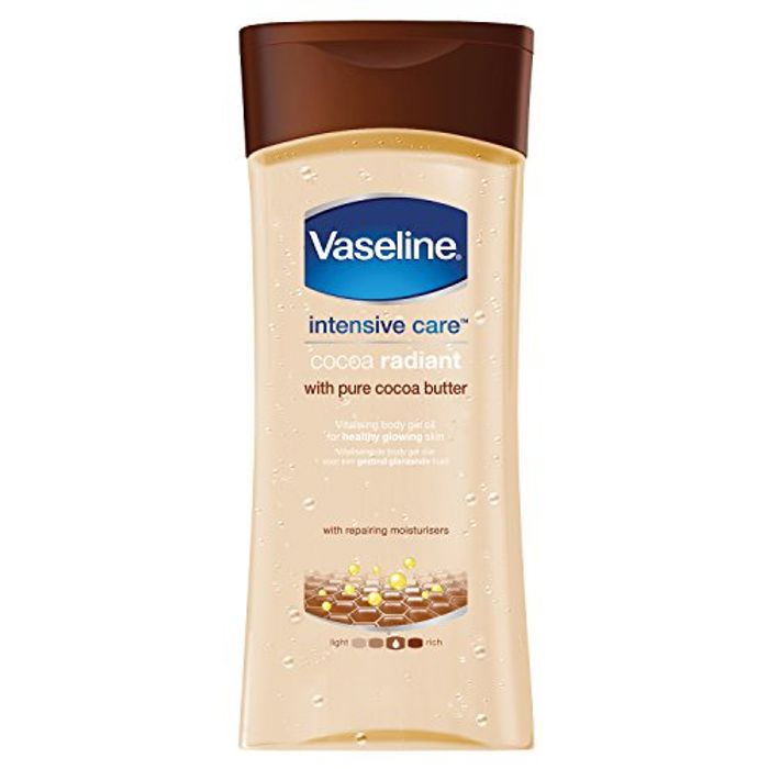 Vaseline Essential Moisture Cocoa Radiant with Pure Cocoa Butter 200 Ml