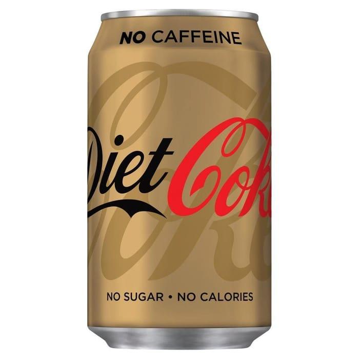 Diet Coke No Caffeine 330ml