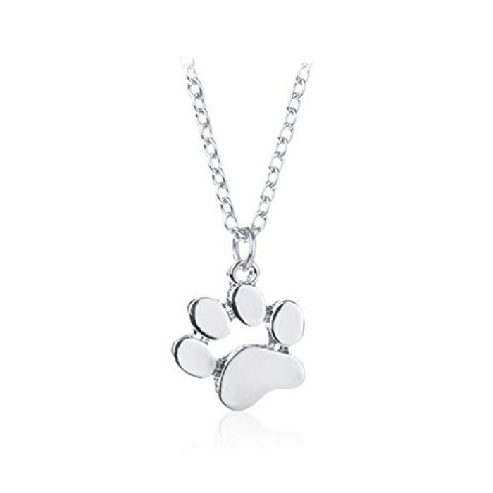 Paw Print Necklace Free Del