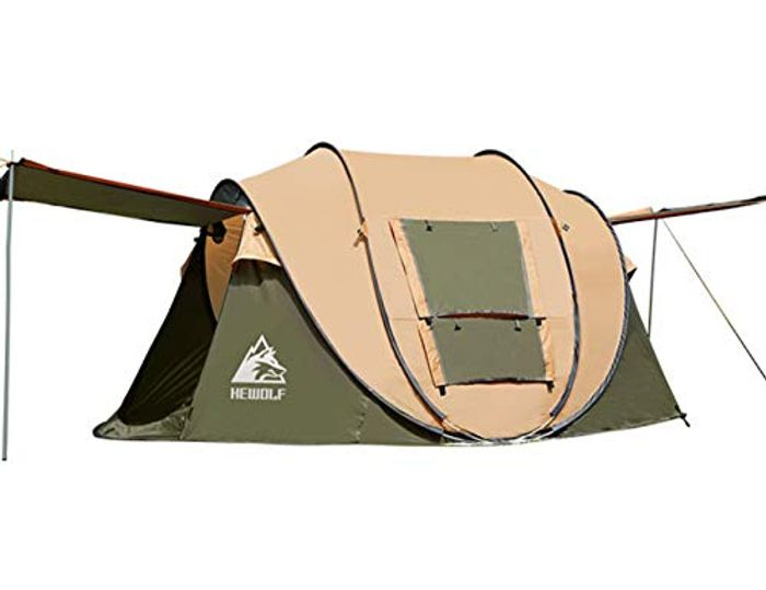 2-4 Person Waterproof Camping Tent