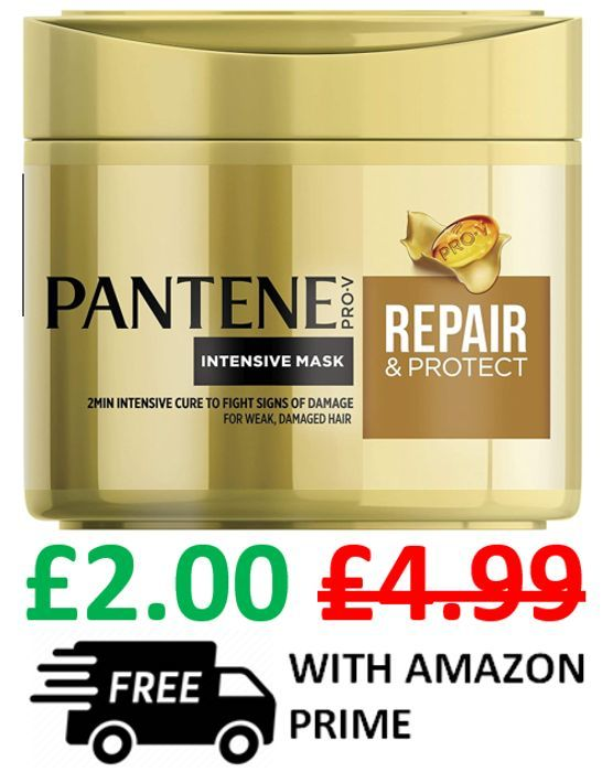 Pantene Hair Mask Repair & Protect For Weak Damaged Hair. FREE PRIME DELIVERY