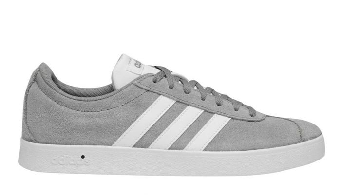 ADIDASVL Court 2 Suede Shoes Mens