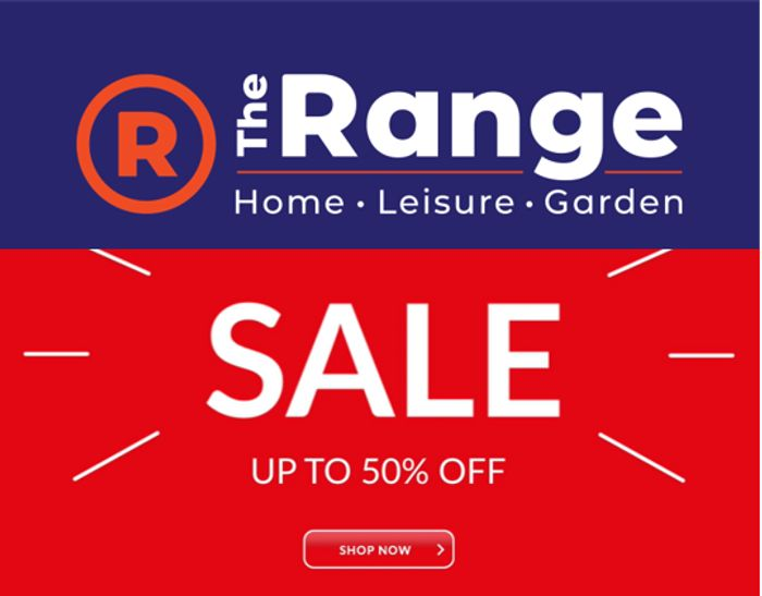The Range - SALE - up to 50% OFF