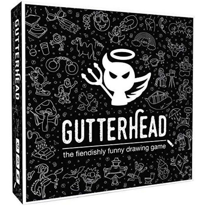 Gutterhead - the Adult Board Game of Hilariously Twisted Doodles