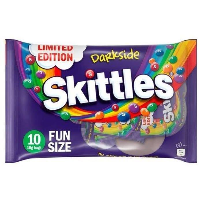 Skittles Darkside Limited Edition 10pk 180g