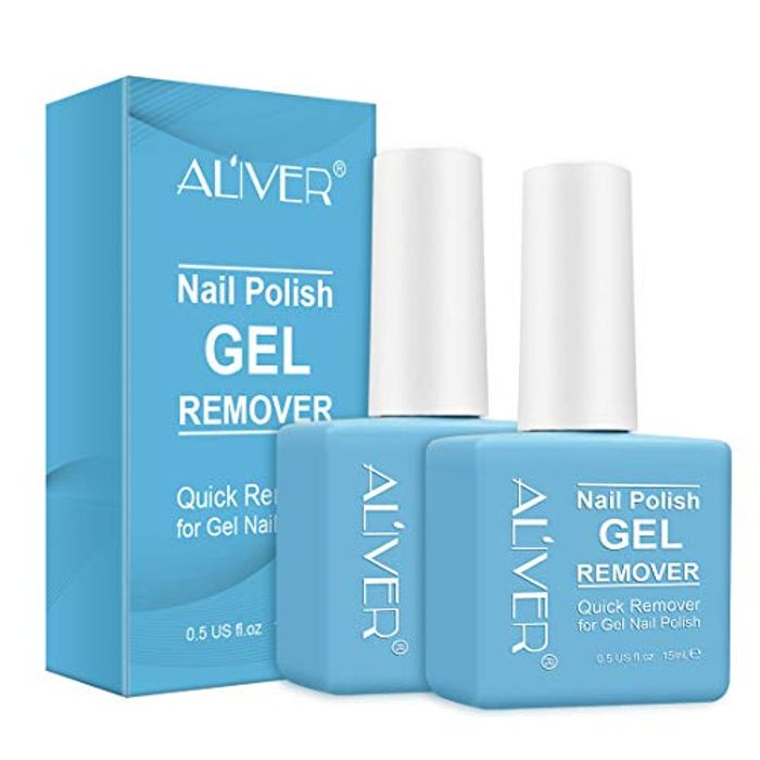 Magic Gel Nail Polish Remover, Professional Removes Soak-off Gel Polish Remover