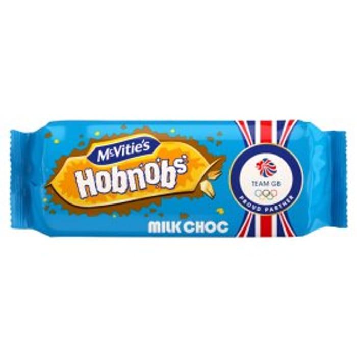 Save a Third on McVities Milk Chocolate Hobnobs, Waitrose