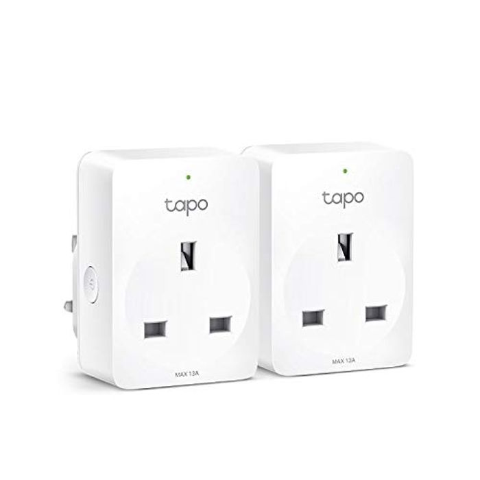 TP-Link Tapo Smart Plug Wi-Fi Outlet, Works with Alexa & Google Home 2 Pack